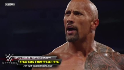 WWE Marquee Matches: The Rock & John Cena look to put aside their differences in tag team action (WWE Network Exclusive)