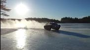 Ripsaw - дрифт върху лед и сняг