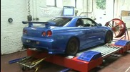 Nissan Skyline R34 - Dyno Test