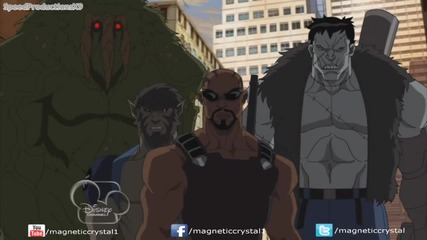 Ultimate Spiderman S2e22 Blade and the Howling Commandos, Part 2