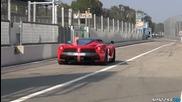 Ferrari Loud Revving & Sound!