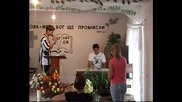 Гошо Лидера Пее В Църква Ейова Ире със Хвалението Христянски 2010