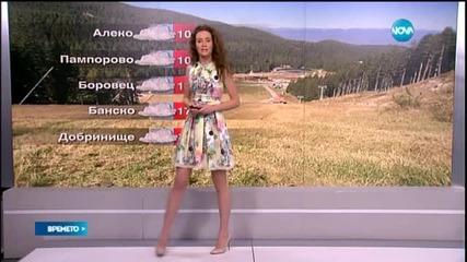 Прогноза за времето (29.05.2015 - обедна)