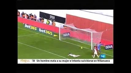 """Труден успех на """"Реал"""" (Мадрид) над """"Райо Валекано"""" с 3:2, скандален гол за Алмерия"""