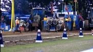 Дърпане на 4500kg трактор
