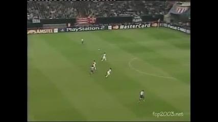 Ретро: Шампионска лига , Финал - Монако - Порто 0 : 3 - 2004 г.