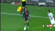 Барса надви Алавес и в реванша, Давид Вия с два гола