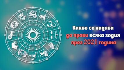 Какво се надява да прави всяка зодия през 2021 година