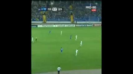 Левски 0:1 Дебрецен - Боднар им го бодна
