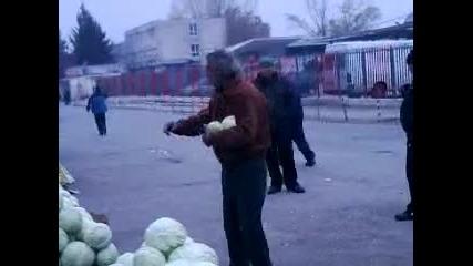 Зеленчуковата борса във Варна