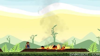 Чък Норис срещу Angry Birds *смях*