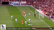 Ман. Юнайтед 3:0 Уест Хям (всички голове) - 28.08.2010