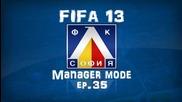 Кратък епизод fifa 13 Levski Manager mode - ep.35