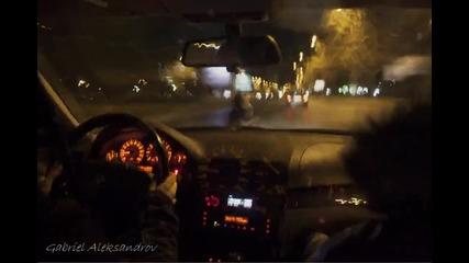 timelapse in car