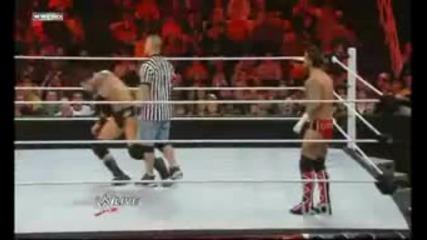 Wwe.raw.john Cena precaka i Wade Barrett i Cm Punk