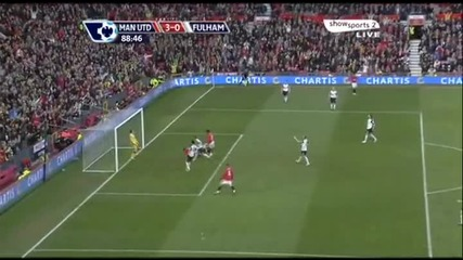 [hq]14.03 Бербатов гол Манчестър Юнайтед 3:0 Фулъм