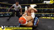 Top 10 Mejores Momentos de NXT: WWE Top 10, Jun 22, 2021