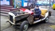 Москвич 407 кабрио - уникат