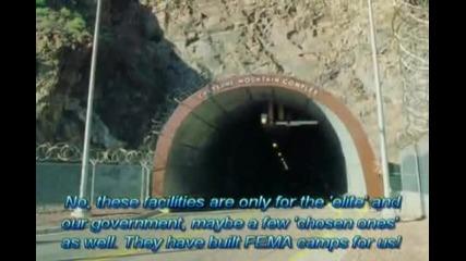Тайните подземни военни бази на Сащ