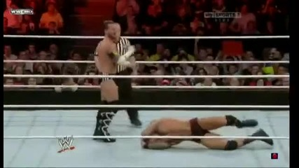Randy Orton vs Cm punk dsv