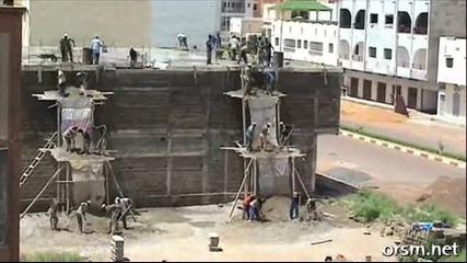 Смешно африканско строителство