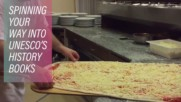 Мятането на пица вече е световно наследство