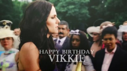 Happy Birthday, Vikkie!