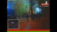 Riot! Безредици след Ц С К А - Рапид Виена *21.10.2010г.*