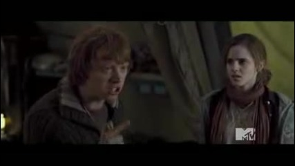 ! ! Бг превод ! Harry Potter and Deathly Hallows Sneak Peek from Mtv Movie Awards