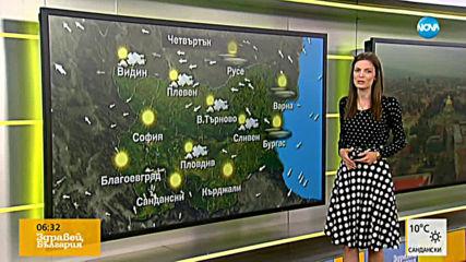 Прогноза за времето (24.10.2019 - сутрешна)