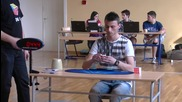 Рубик куб - 8.93 секунди национален рекорд за България