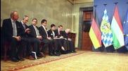 Hungary: Bavaria's Seehofer meets PM Orban ahead of Monday refugee summit
