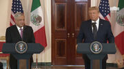 USA: Great relationship against all odds - Trump hosts Mexican President Obrador at WH