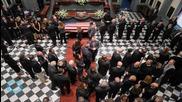 Joe Biden Attends Son Beau Biden's Emotional Funeral
