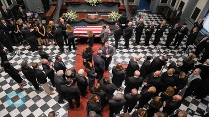 Joe Biden Attends Son Beau Biden's Emotional Funeral