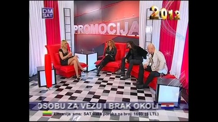 Indira Radic - Intervju (2. deo) - Promocija - (TV Dm Sat 2012)