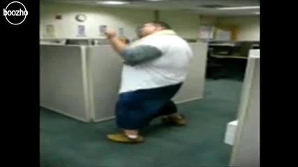 най - гъвкавият дебел човек