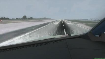 Fsx Landing at Dresden!!!