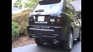 Звука на звяра Range Rover Sport Supercharged !!!
