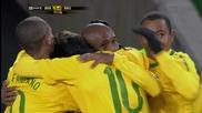 Бразилия 2 - 1 Северна Корея Елано Гол World Cup 2010™ South Africa Високо Качество
