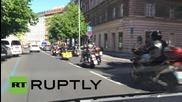 Чехия: 'Нощните вълци' се отправят към последната си спирка преди Берлин