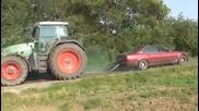Трактор срещу Е34