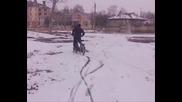 Piaggio Ciao На Сняг