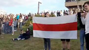 Belarus: Minsk residents call for peace amid post-election violence