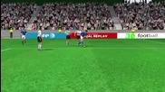 Германия - Италия 3d гол - Евро-2012 1-ви гол на Балотели