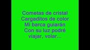 Maria Isabel - Cometas De Cristal Lyrics