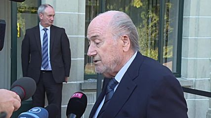 Switzerland: Sepp Blatter 'very confident' ahead of CAS trial