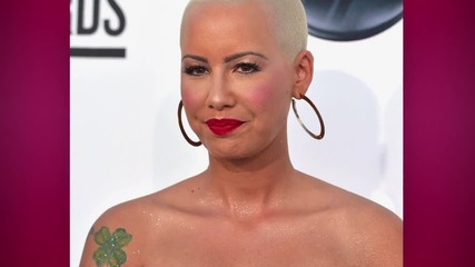 Amber Rose Reveals her Breasts are 36H and Real