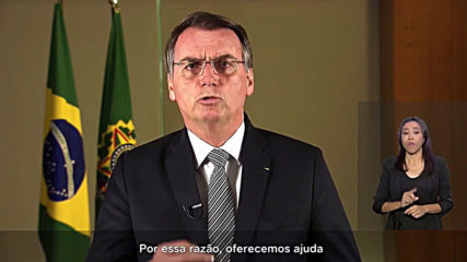 Brazil: Bolsonaro calls for calm, vows to send armed forces to combat fires
