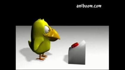 Червеният Бутон - Забавна Анимация